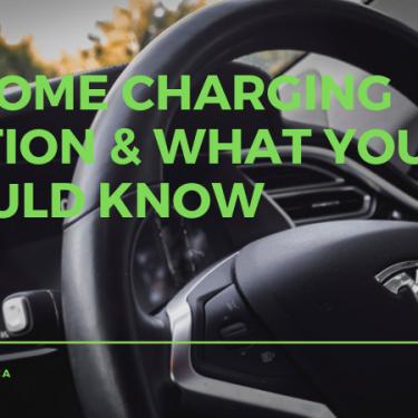 EV Home Charging in Garage