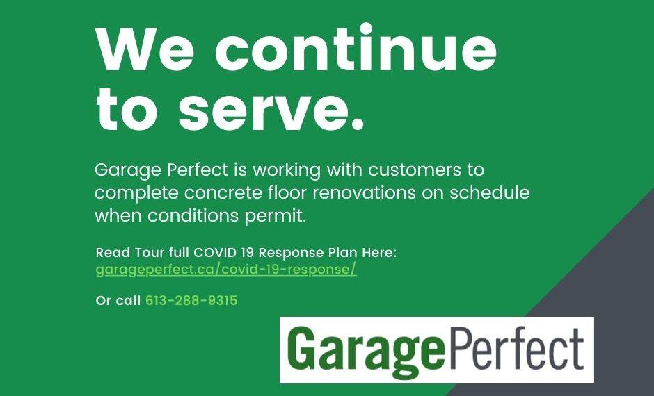Garage Perfect Covid 19 response