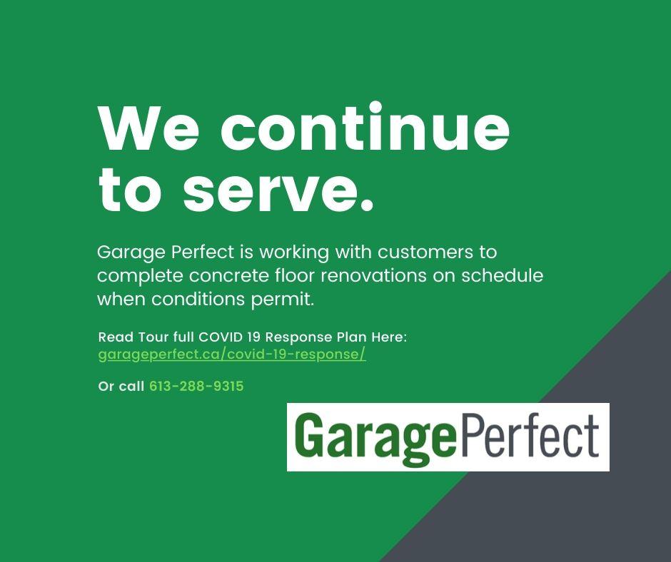 Garage Perfect COVID-19 Response
