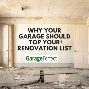 prioritize your garage renovation