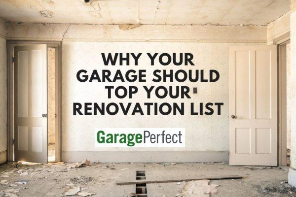 prioritize your garage renovation